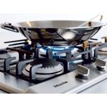 Miele Km 2032 G - Gas Cooktop With 5 Burners For Particularly Versatile Cooking Convenience.