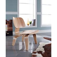 Fathom Wood Lounge Chair in Natural