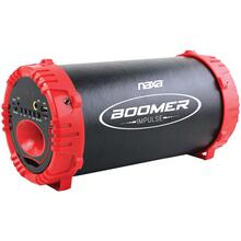 BOOMER IMPULSE LED Bluetooth® Boom Box (Red)