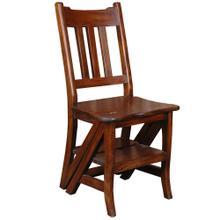See Details - Folding Chair / Shelf in Walnut