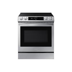6.3 cu. ft. Front Control Slide-in Electric Range with Smart Dial, Air Fry & Wi-Fi in Stainless Steel Product Image