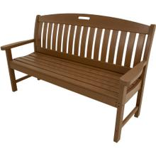 View Product - Hanover Avalon All-Weather 60 In. Porch Bench in Teak, HVNB60TE