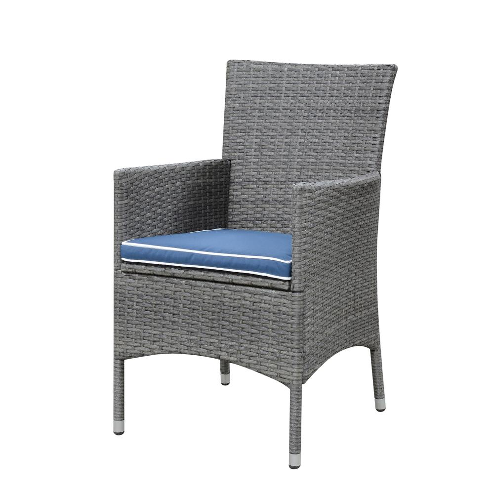 Ridgemonte Outdoor Dining Arm Chair, Gray Od1104-20-04