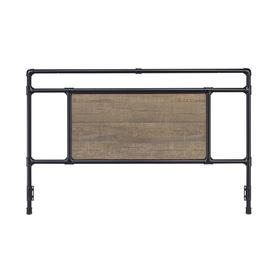 Elkton Headboard - King, Matte Black Finish