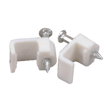 Speaker Wire Clips - 80 Pack
