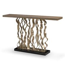See Details - Waves Console Table