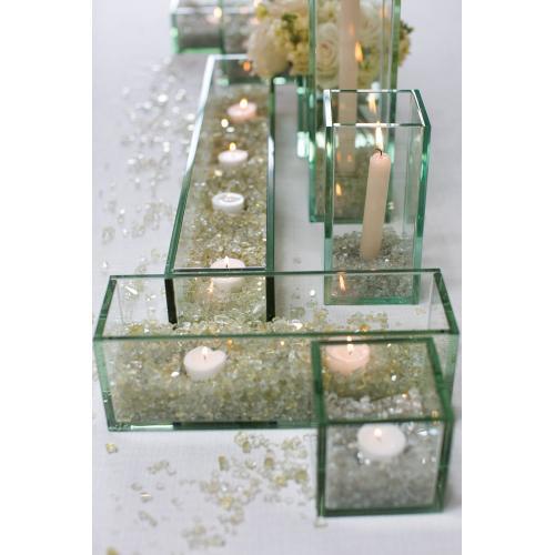 5-8mm x 46oz Gold SALE Mirrored Glass