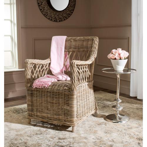Hinaku Rattan Arm Chair - Natural