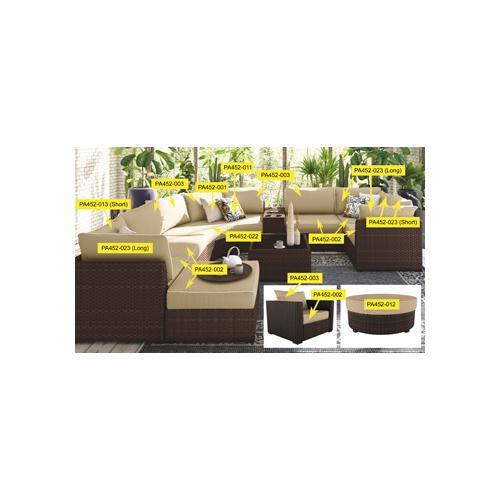 Spring Ridge Curve Seat Cushion