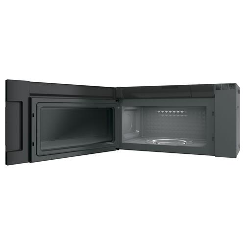 GE Profile 2.1 Cu. Ft. SpaceMaker Over-the-Range Microwave Oven Black Stainless Steel - PVM2188BMTSC