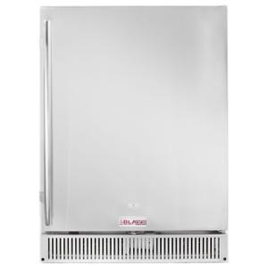 "Blaze GrillsBlaze Outdoor Rated Stainless 24"" Refrigerator 5.2 cu. ft."