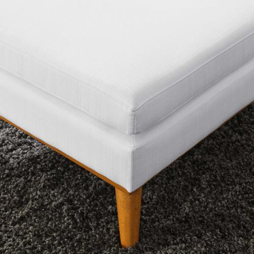 Modway - Engage Upholstered Fabric Ottoman in White