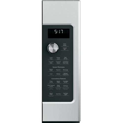 GE Appliances - Café 1.7 Cu. Ft. Convection Over-the-Range Microwave Oven
