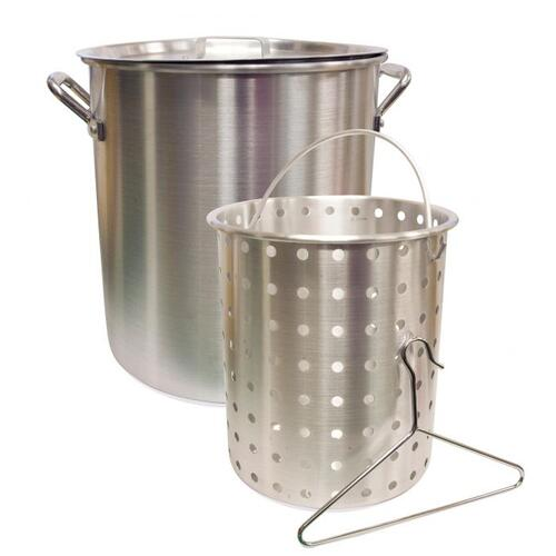 Aluminum Cooker Pot - 24 QT