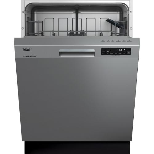 Front Control, Pocket Handle Dishwasher, 5 Programs, 48 dBA
