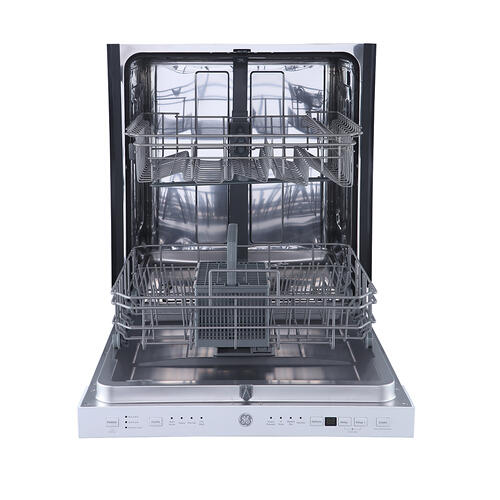 "GE 24"" Built-In Top Control Dishwasher with Stainless Steel Tall Tub White - GBP534SGPWW"