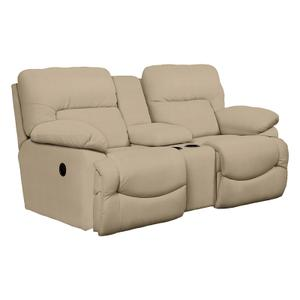 Gallery - Asher La-Z-Time® Full Reclining Loveseat with Middle Console