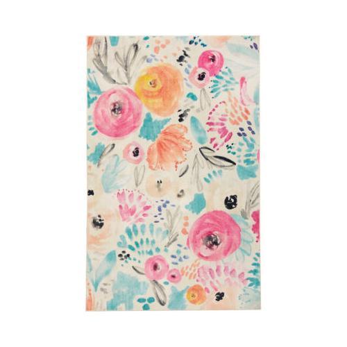 Mohawk - Watercolor Floral, Multi- Rectangle