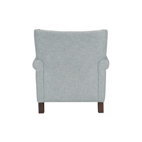 Standard Furniture - Wynn Button Tufted Accent Chair, Aqua