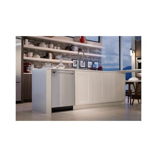 39 dBA Dishwasher with ProScrub Option - White