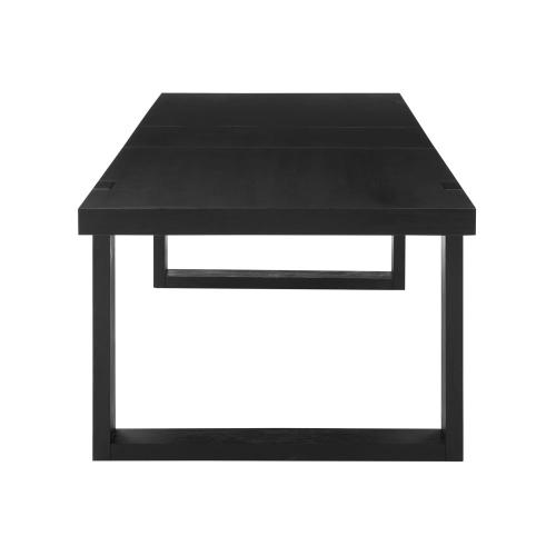 "Yves 95-inch Dining Table with 18"" leaf"