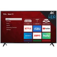 "TCL 65"" Class 4-Series 4K UHD HDR Roku Smart TV - 65S421"