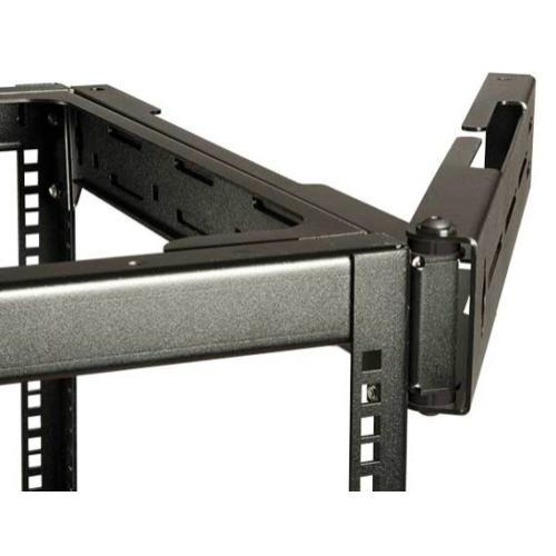 On-wall Swing Out Rack Accessory - Fits Open Frame AV Racks