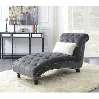 Emerald Home Hutton II Gray Chaise
