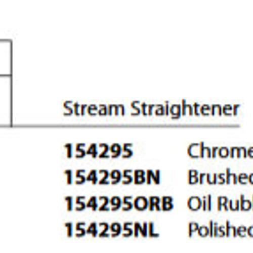 Moen - Weymouth Chrome Stream Straightener