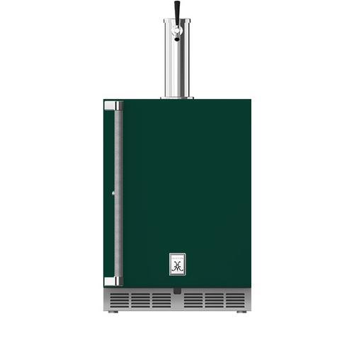 "Hestan - 24"" Hestan Undercounter Single Faucet Beer Dispenser - GFDS Series - Grove"