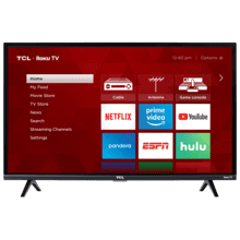 """See Details - TCL 32"""" Class 3-Series FHD LED Roku Smart TV - 32S327"""