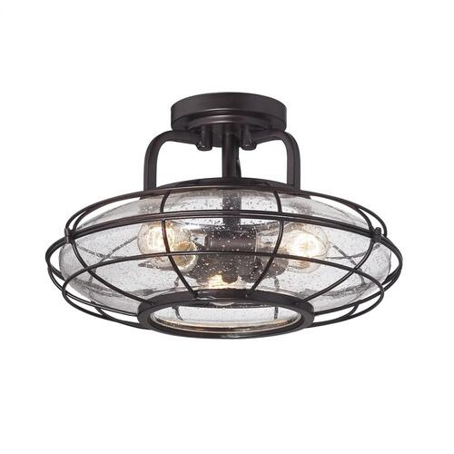 Connell 3 Light Semi-Flush