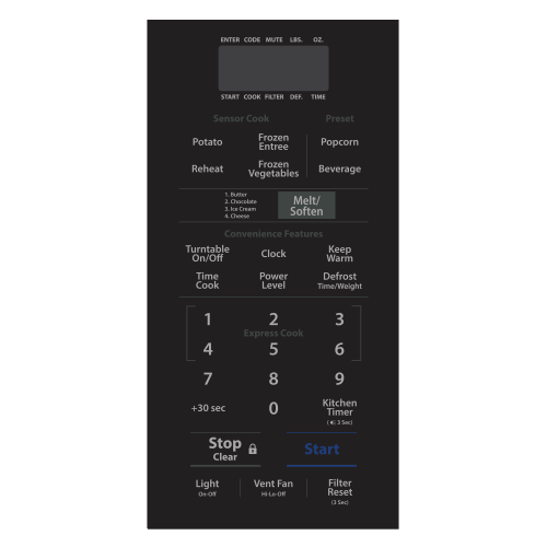 Beko - 30 Over the Range Push Button Microwave (950 W, 1.6 cu. ft.)