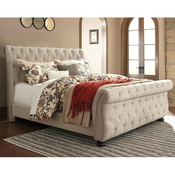 Willenburg Queen Upholstered Sleigh Bed