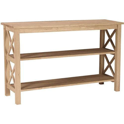Whitewood Industries - Unfinished Hampton Sofa Table