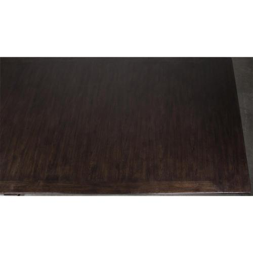 Rosemoor - Trestle Dining Table Base - Burnt Caramel Finish