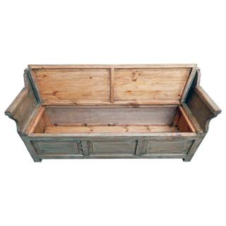 Driftwood Storage Bench
