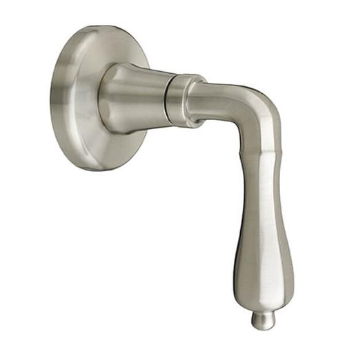 Dxv - Ashbee 1/2 Inch or 3/4 Inch Wall Valve Trim with Lever Handle - Brushed Nickel