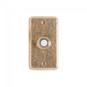 Hammered Doorbell Button Silicon Bronze Brushed Product Image
