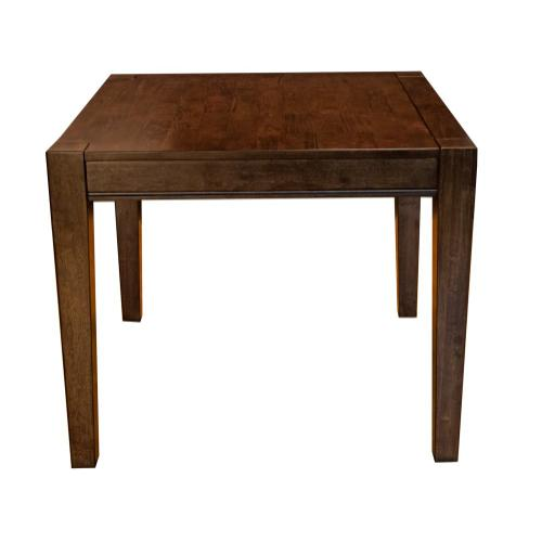 5 Piece Set (Square Leg Table and 4 Side Chairs) *Bar Cart Not Available to Order*