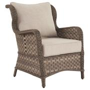 Clear Ridge Lounge Chair With Cushion (set of 2) Product Image