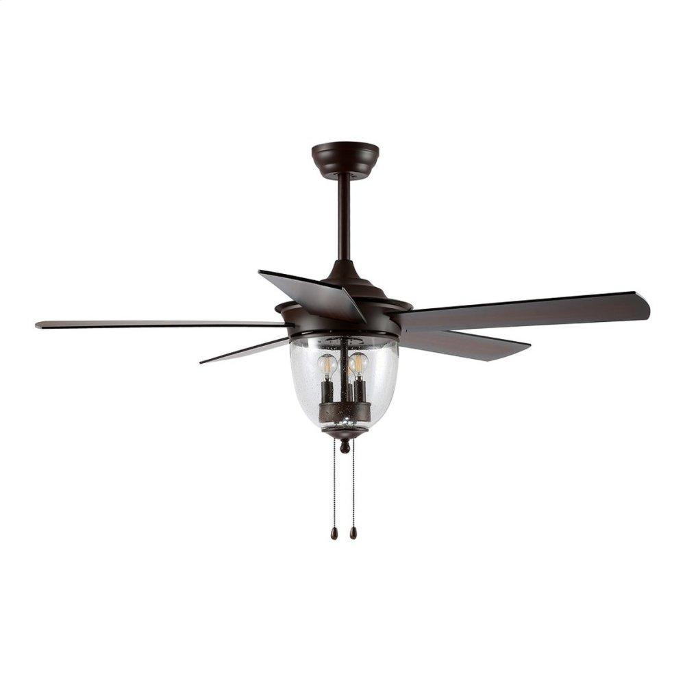 Rallen Ceiling Light Fan - Oil Rubbed Bronze