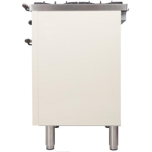 24 Inch Antique White Natural Gas Freestanding Range