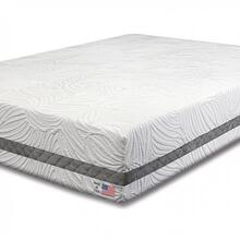 Queen-size Hellebore Gel Memory Foam Mattress