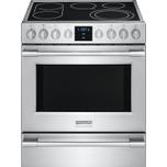 FrigidairePROFESSIONAL•Extra Large Window with Black-Tint™ Finish  •PrecisionPro Controls™ •Keep Warm Setting  •Even Baking Technology  •Rapid Clean Option