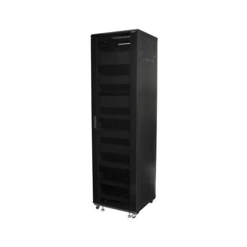 """85"""" Tall AV Rack 44U Component rack for home theater equipment"""