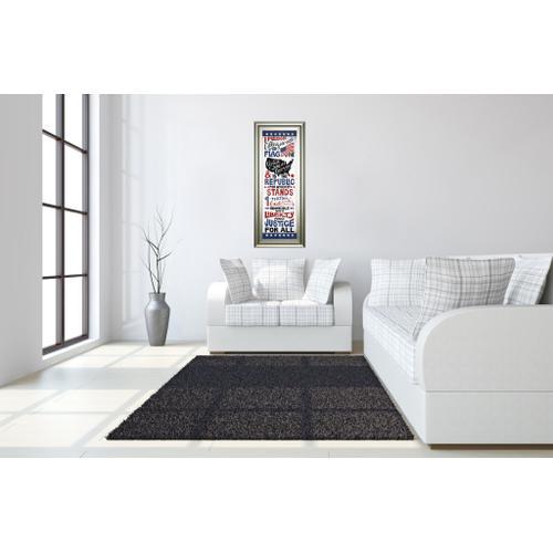 "Classy Art - ""Pledge Of Allegiance"" By Susan Ball Framed Print Wall Art"