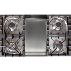 40 Inch Matte Graphite Dual Fuel Liquid Propane Freestanding Range