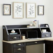 L Writing Desk Hutch