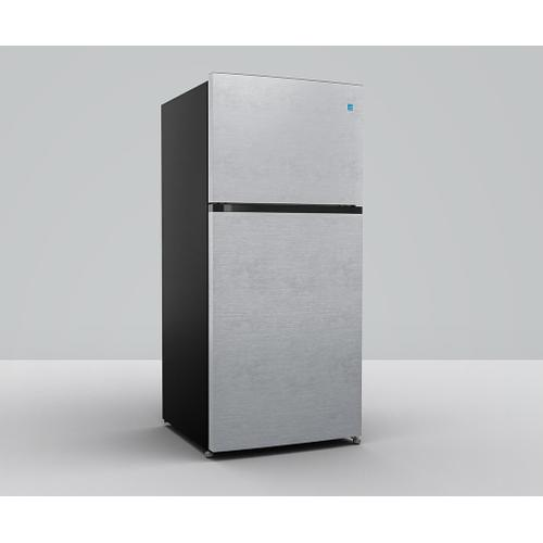 Element 18 cu. ft. Top Mount Refrigerator (Stainless Steel)